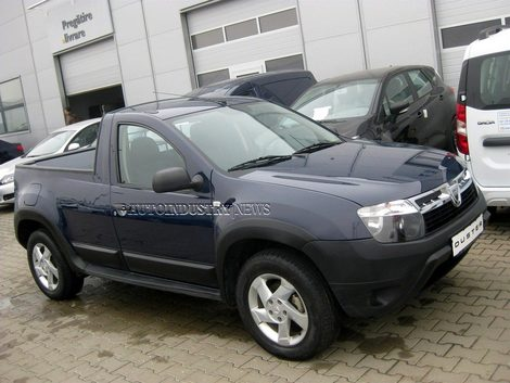 Двухдверный Renault Duster pick-up