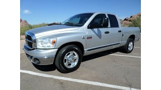 BIG HORN EDITION 2007 Dodge Ram 3500 pickup (photo slideshow)