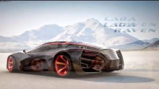 VECTOR RAVEN RUSSIAN AWESOME SUPERCAR! Lada Raven I LIKE IT!
