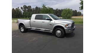 all original 2012 Dodge Ram 3500 Laramie pickup (photo slideshow)
