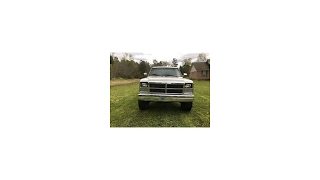 1993 Dodge Pickup Standard Cab lifted (photo slideshow)