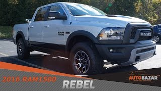 2016 Dodge Ram 1500 Rebel видео. Тест драйв Додж Рам 1500 Ребел 2016 на Русском. Пикапы из США.